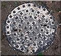 J5182 : Manhole cover, Bangor by Rossographer