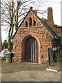 SJ2977 : The Hearse House, St Mary and St Helen's church by John S Turner