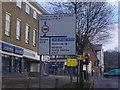 TQ1486 : Road sign on Shaftesbury Avenue, Harrow by David Howard