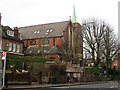 TQ3272 : Former St Cuthbert's church, Tulse Hill by Stephen Craven