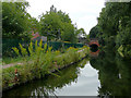 SP0483 : Canal approaching Pritchatts Road Bridge, Edgbaston by Roger  Kidd