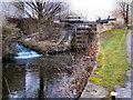 SJ8699 : Rochdale Canal, Lock 75 by David Dixon