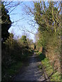TM2650 : Bridleway to the A12 Melton Bypass by Adrian Cable