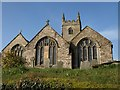 SX1751 : Church of St Ildierna, Lansallos by Derek Harper