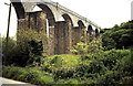 SW7840 : Carnon Viaducts 1969 by Gordon Spicer