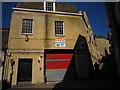 TF0207 : Post office rear entrance, Sheepmarket by Bob Harvey