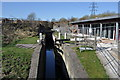 SK4174 : Chesterfield Canal - Hollingwood Lock by Ashley Dace