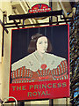 TR2335 : The Princess Royal sign by Oast House Archive