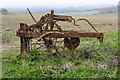 TL0533 : Abandoned plough by Barry Ephgrave