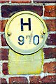 TL3677 : Old-fashioned hydrant sign by Tiger