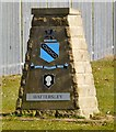 SJ9894 : Hattersley Boundary Stone by Gerald England