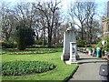 TQ2782 : St John's Wood church grounds by David Smith