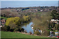 TQ7353 : River Medway at East Farleigh by Oast House Archive