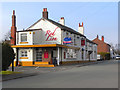 SJ6990 : Red Lion, Hollins Green by David Dixon