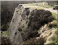SJ9472 : Climbing face at Tegg's Nose Quarry by Seo Mise