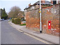 TM3863 : B1121 North Entrance & North Entrance George V Postbox by Adrian Cable
