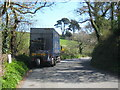 SW9248 : Lay-by on the A390 at Trevolland by Rod Allday