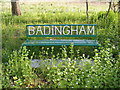 TM3067 : Badingham Seat by Adrian Cable