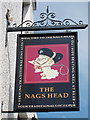TQ8008 : The Nags Head sign by Oast House Archive