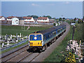 J0859 : Train approaching Lurgan station by TheTurfBurner