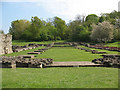 TQ4778 : Nave of the former Lesnes Abbey by Stephen Craven