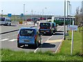 SW8665 : The car park, Newquay Airport by Oliver Dixon