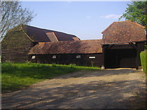 SP9900 : Barn on Codmore Wood Road by David Howard