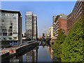 SJ8398 : River Irwell, Chapel Wharf by David Dixon