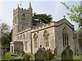 ST6464 : St Mary's church, Compton Dando by Neil Owen