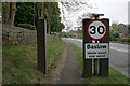 SK2472 : Speed limit sign by David Lally