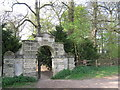 SK6374 : Entrance to the Pleasure Grounds, Clumber Park by Peter Turner