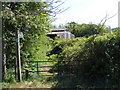 TM3257 : Footpath to the B1078 Ash Road by Adrian Cable