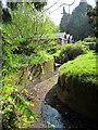 TQ8010 : Stream through Alexandra Park by Oast House Archive