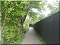 SE1736 : Footpath - Norman Lane to Farm Hill Road by Betty Longbottom