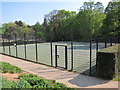 TQ8110 : Tennis Courts at Alexandra Park by Oast House Archive