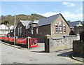 ST1891 : Cwmfelinfach Primary School by John Grayson