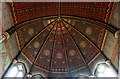 TQ4973 : St John the Baptist, Parkhill Road, Bexley - Apse roof by John Salmon