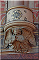 TQ4973 : St John the Baptist, Parkhill Road, Bexley - Corbel by John Salmon