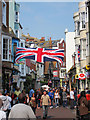 TQ8209 : Union Jack on George Street by Oast House Archive