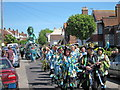 TQ8210 : Jack in the Green procession, Collier Road  by Oast House Archive
