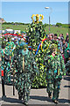 TQ8209 : The Jack at Jack in the Green procession by Oast House Archive