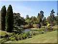 SJ5351 : The temple garden on Cholmondeley estate by Raymond Knapman
