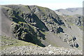 NY3511 : Northern crags of Fairfield by Graham Horn