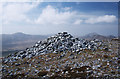 B9928 : Cairn, Muckish by Rossographer