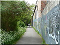 ST6071 : Avon pathway near Totterdown, Bristol by Anthony O'Neil