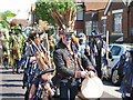 TQ8210 : Jack in the Green procession by Oast House Archive