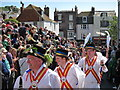 TQ8209 : Morris Dancers at Jack in the Green by Oast House Archive