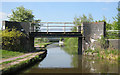 SJ8843 : Sideway Bridge 108 by Mike Todd