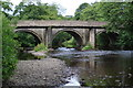 SK2477 : Bridge over river Derwent Grindleford by John Jennings
