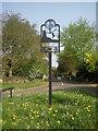TF0605 : Pilsgate village sign by Marathon